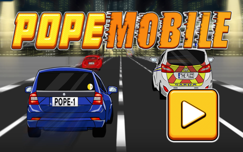 Viral: Popemobile
